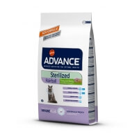 Advance Cat Sterilized Hairball Kısır Kedi Maması Hindili 1.5kg