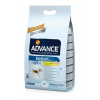 Advance Dog Medium Light Orta Irk Diyet Köpek Maması 3kg