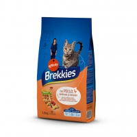 Brekkies Excel Cat Mix Tavuklu Kedi Maması 1,5kg
