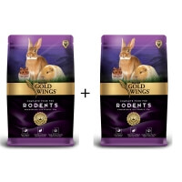 Gold Wings Premium Hamster Ginepig Tavşan Yemi 750gr x 2Adet