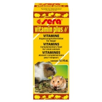 Sera Vitamin Plus N Hamster Ginepig Vitamini 15ml