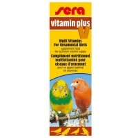 Sera Vitamin Plus V Muhabbet Kanarya Kuş Vitamini 15ml