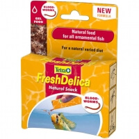 Tetra Fresh Delica Blood Worms Kankurdu Balık Yemi 3grx16
