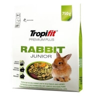 Tropifit Yavru Tavşan Yemi Premium Plus Rabbit Junior 750gr