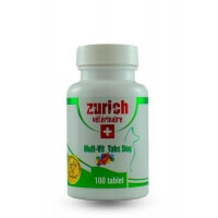 Zurich Dog Multi-Vit 100 Tablet Köpek Vitamini